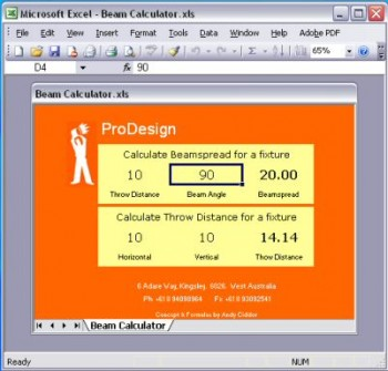 ProDesign :: Products :: Beam Calculator